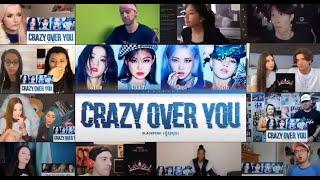 BLACKPINK Crazy Over You Lyrics (블랙핑크 Crazy Over You 가사) [Color Coded Lyrics/Eng] Reaction Mashup