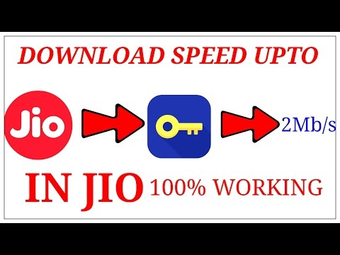 DOWNLOAD SPEED UPTO 2MB/S IN JIO NETWORK.