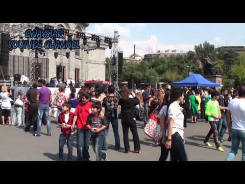 Ереван, Армения, 21 сентября 2011.Часть 1.
