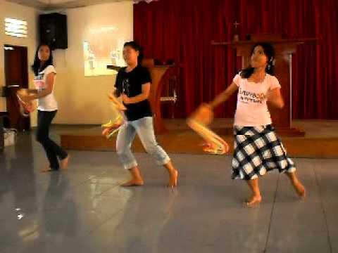 Tambourine dance (Faith)