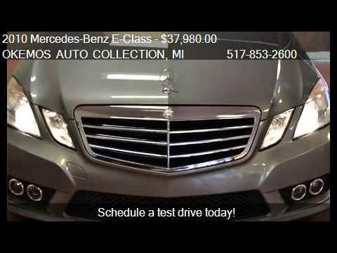 2010 mercedes benz e class e350 for sale in okemos mi for Mercedes benz okemos