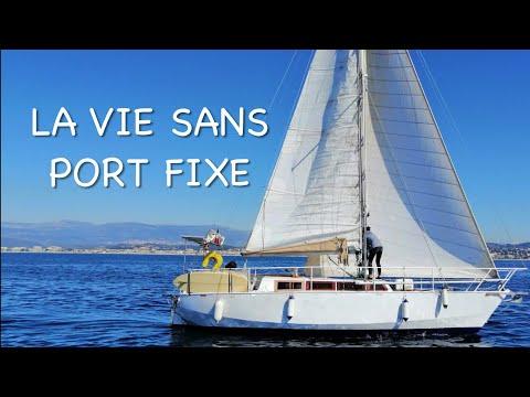 À bord d'un voilier, pas le temps de s'ennuyer : réparation annexe, trinquette, baie de St Trop