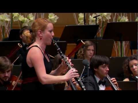 W.A.Mozart: Clarinet concerto in A major, K.622 with Nadja D