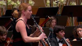 W.A.Mozart: Clarinet concerto in A major, K.622 with Nadja Drakslar
