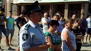 Protest pașnic la Văleni, Cahul