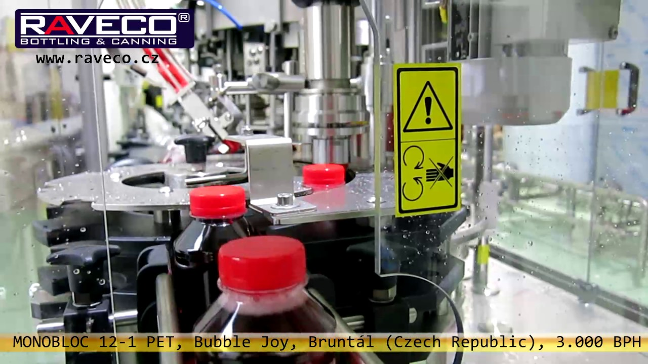 Bottling and canning machinery | RAVECO cz