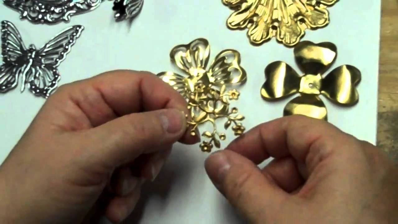 How Brass Stampings are Made and a Discussion of Jewelry ...