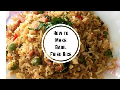 How To Make BASIL FRIED RICE