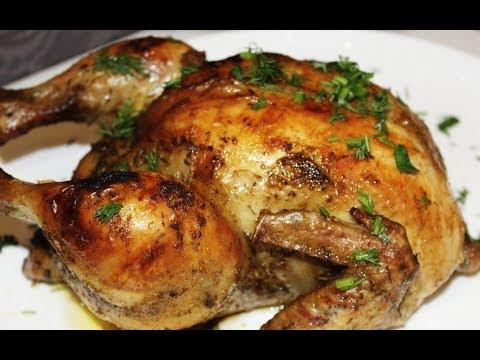 курица в духовке, как приготовить сочную курицу