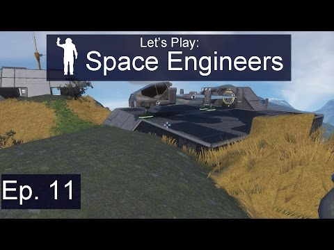 Space Engineers - Ep. 11 - The Solar Scout! - Let's Play Survival