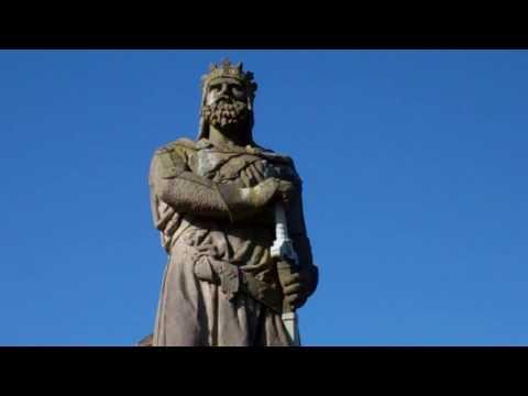 King Robert The Bruce Statue Stirling Castle Scotland