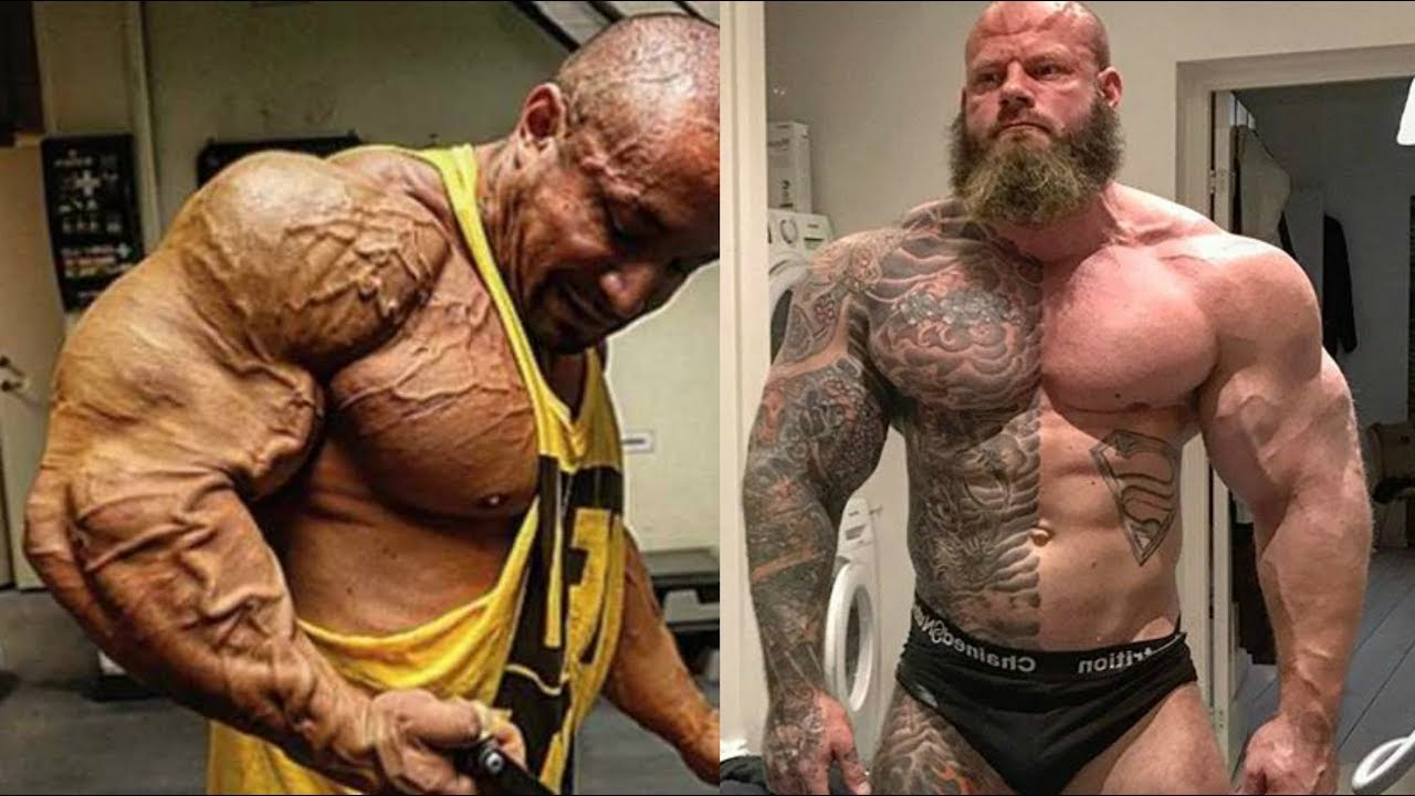 Top 5 Freakiest Bodybuilders that don't Compete - YouTube