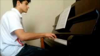The Flash (TV Show) - Theme Song on Piano - Leonardo Cremonezi