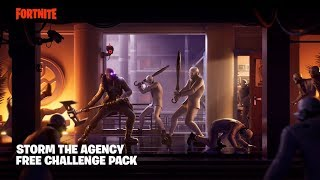 How To Do The STORM THE AGENCY Challenges (Storm The Agency FREE Challenge Pack)