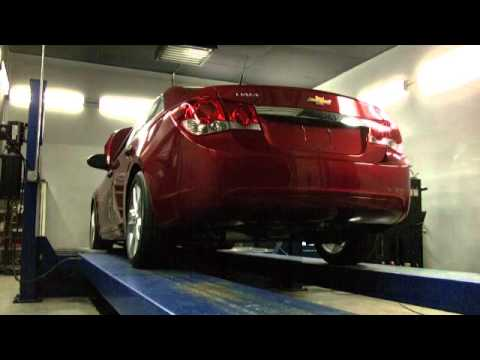 Zzp Modified Chevy Cruze On The Dyno Youtube