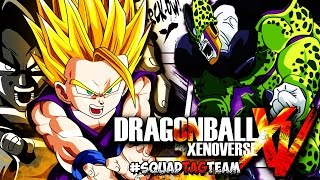 Dragon Ball Xenoverse | Online Tournament AKA Bootleg Cell Games #SQUAD