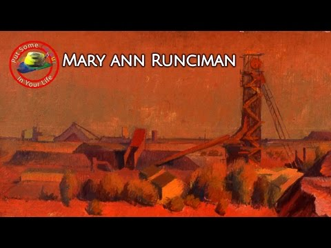 Fine art tips with Free Oil Art Tutorials with Mary Ann Runciman on Colour In your Life
