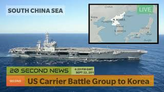 US Carrier Battle Group to Korea - Asian Breaking NEWS Now