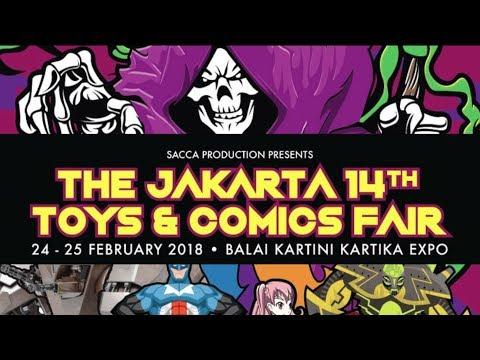 art.ikulasi Event: The Jakarta 14th Toys & Comic Fair 2018