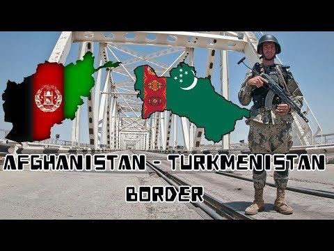 مرز افغانستان و ترکمنستان Afghanistan Turkmenistan Border