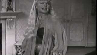 Ginger Rogers does SEXY STAND-UP COMEDY! watta concept!!