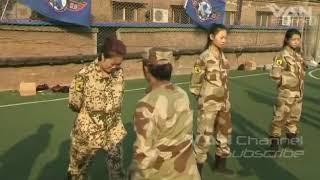 Армия Северной Кореи. Женские подразделения.
