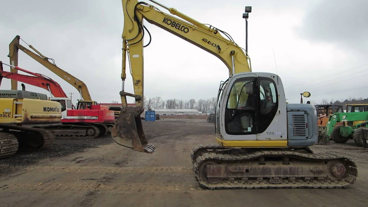 Kobelco 135sr-lc  Updated Video