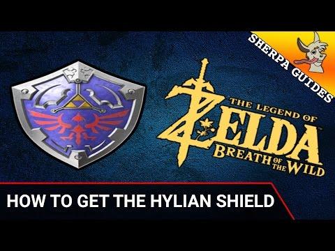 zelda breath of the wild how to fix hylian shield