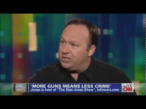The Alex Jones Gun Control Debate Music Show!