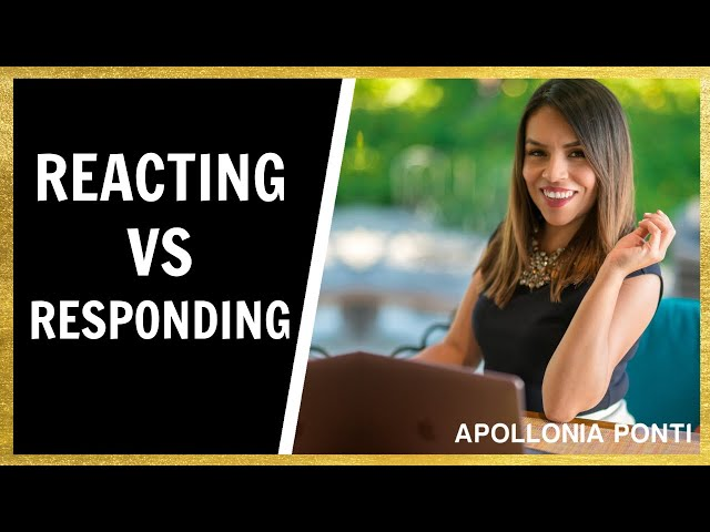REACTING VS RESPONDING | How To Not LOSE Your Emotional State!
