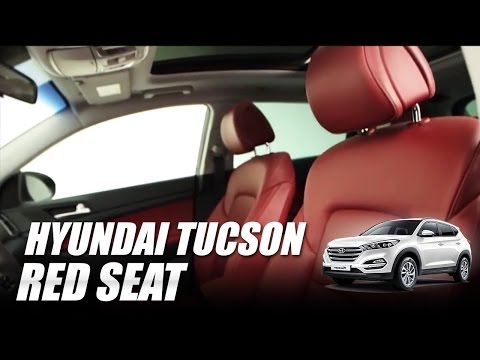 Hyundai Tucson Red Seat