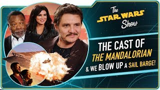 We Talk to The Mandalorian Cast, Plus We Blow Up Jabba