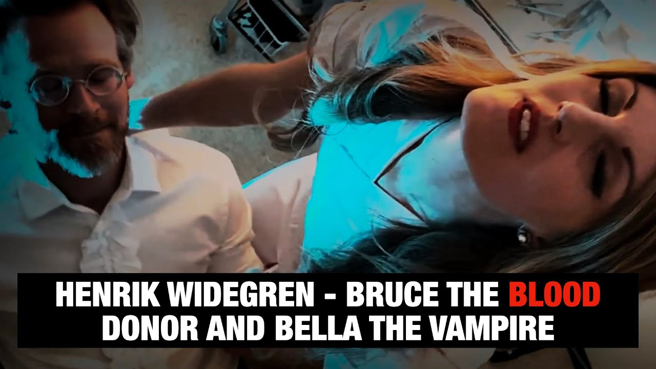 Bruce the Blood Donor and Bella the Vampire