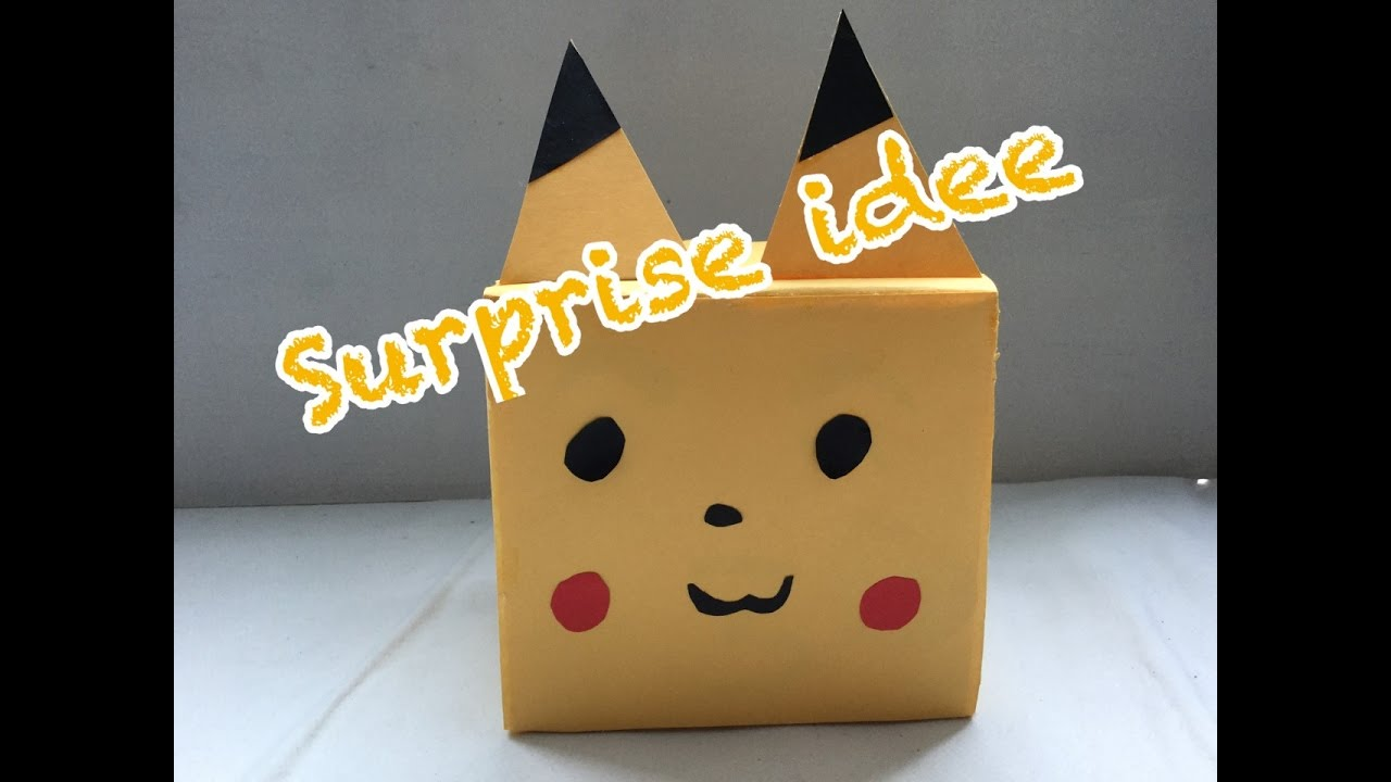 How To Make Pikachu On Paper