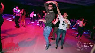 Alex Tsit & Magna Gopal - Salsa social dancing | Istanbul Int. Dance Festival 2018
