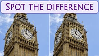 [ Brain games ] ( 3 ) Ep.022 Nations_United Kingdom_London_01 | Spot the difference | photo puzzles