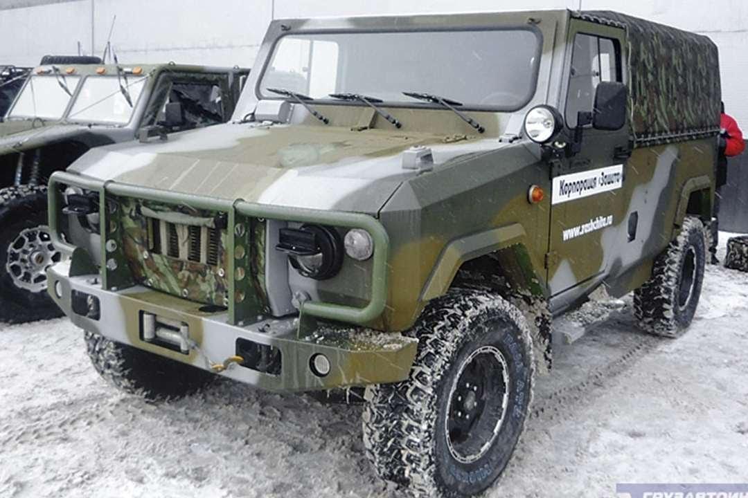 #572. Тюнинг УАЗ 469 Скорпион - YouTube