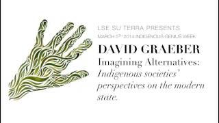 David Graeber - Delivers a talk on
