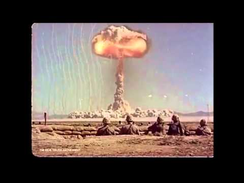 Real footage of nuclear weapon testing