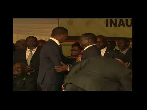 3 Zambian Presidents Attend Mnangagwa's Inauguration