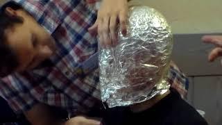 фэнтезийный шлем за пол часа.  ДКР 2015