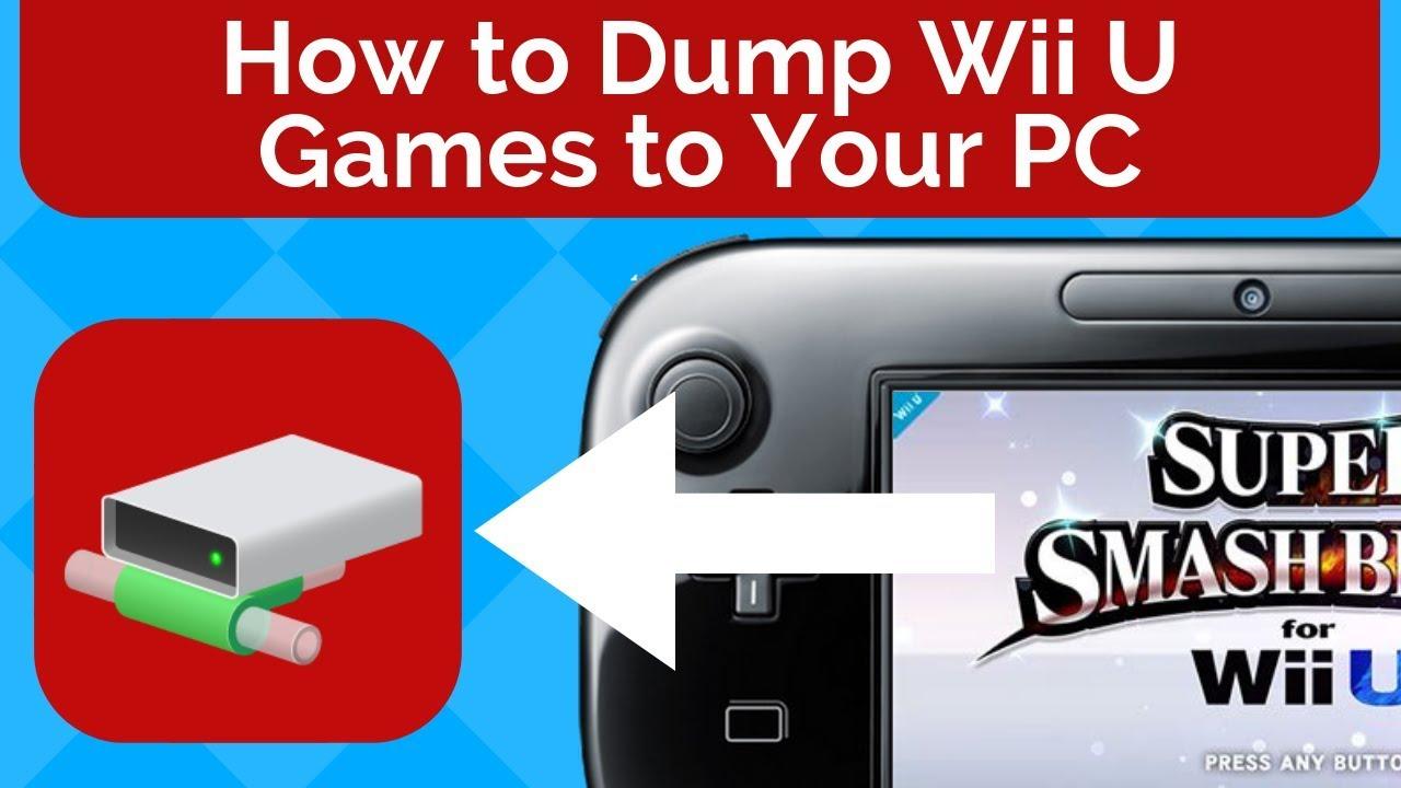 How to Dump Wii U Games