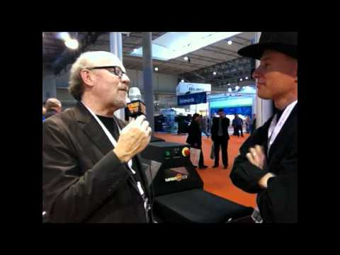 Scott Fresener Interviews Brian Walker - FespaFabric Barcelona