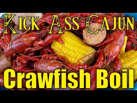 Kick Ass Louisiana Cajun Crawfish Boil Recipe!