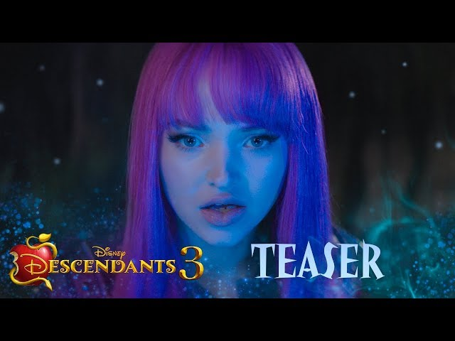 Descendants 3 Official Teaser 💚💜