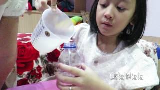 Mainan Anak Cara Membuat Slime Activator Deterjen Laundry - Detergent Booster @lifiatubehd