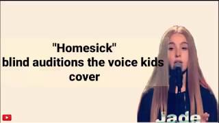 Lyrics! Homesick - Dua Lipa Cover Jade (blind auditions the voice kids) by All Music
