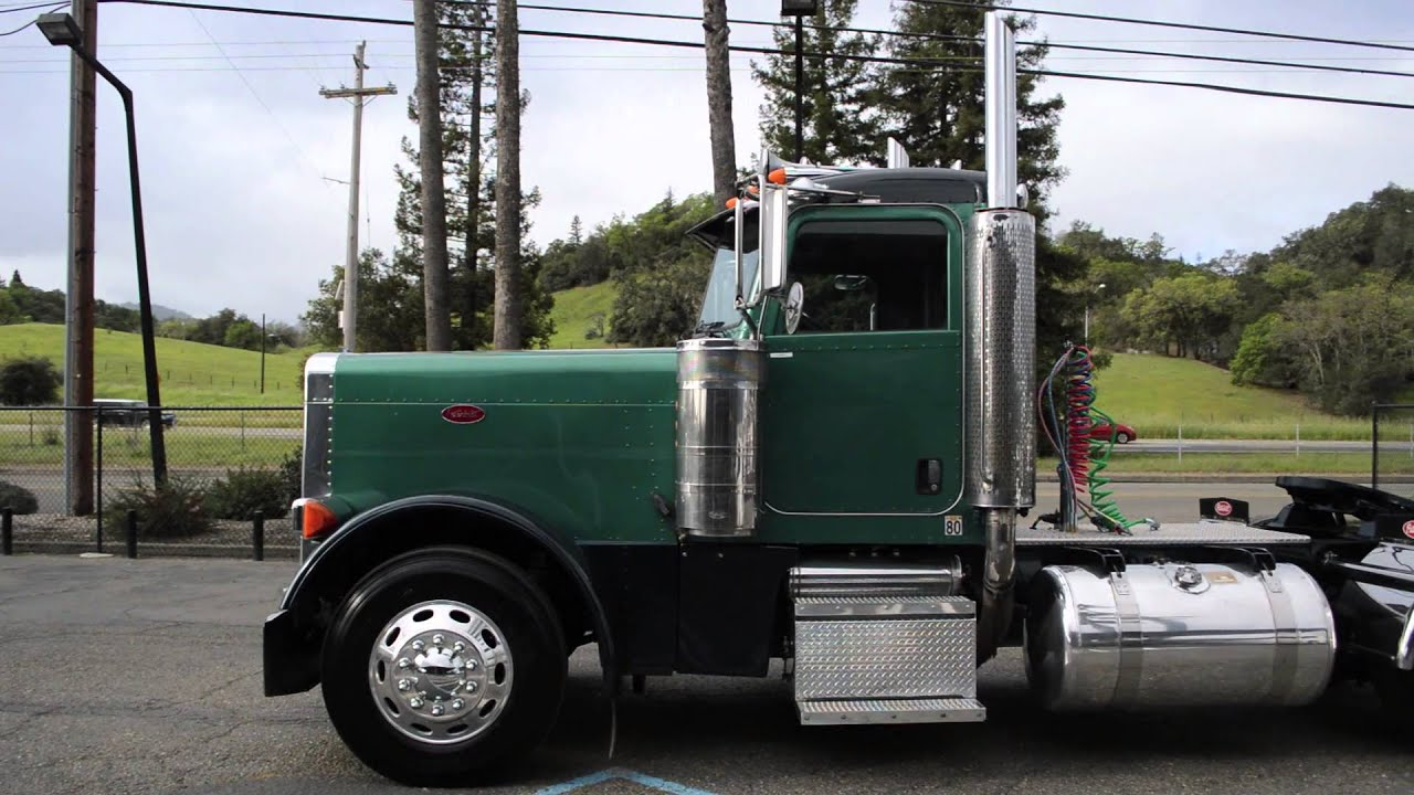 Used Peterbilt 379 Hd Charter Company Truck Sales Youtube