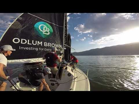Fossil Squared Racing: How to hoist a spinnaker