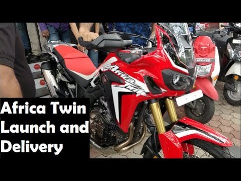 Africa Twin Launch and Delivery | CBR250r Vlog